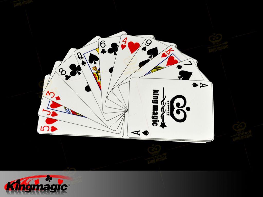 纸牌变大批发,供应扑克魔术纸牌变大-皇牌魔术
